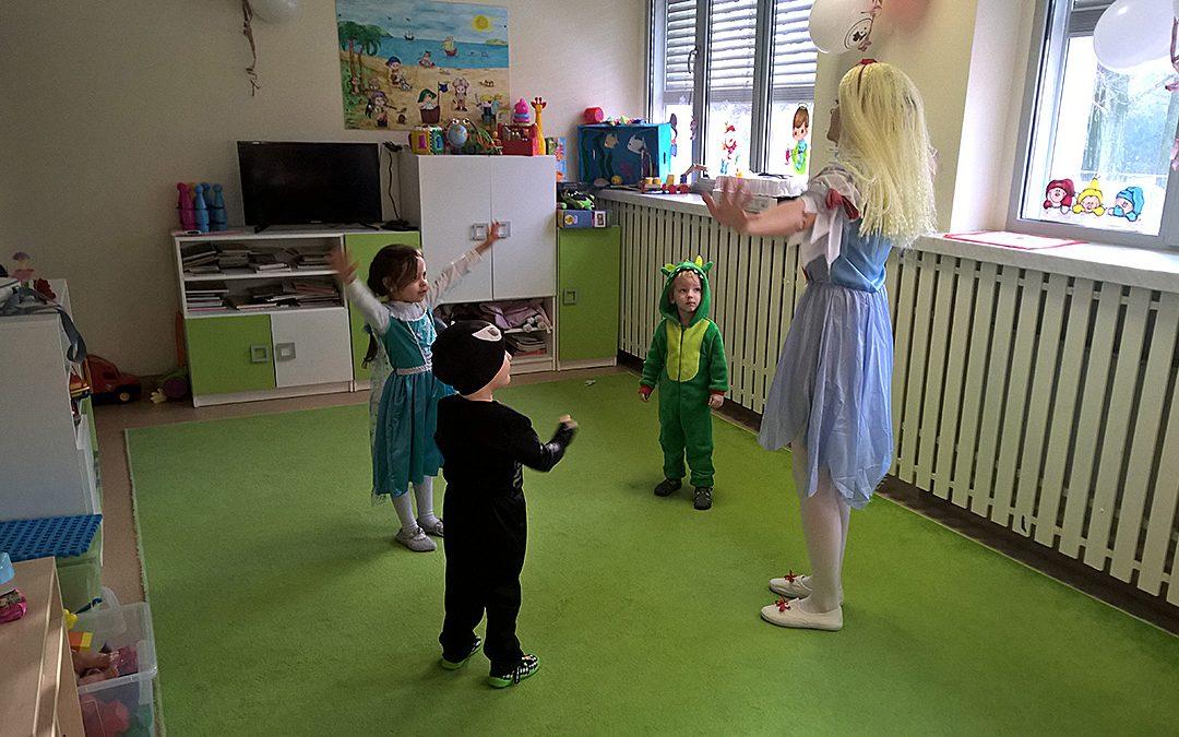 Karnawał w przedszkolu Pirata Ferdusia!
